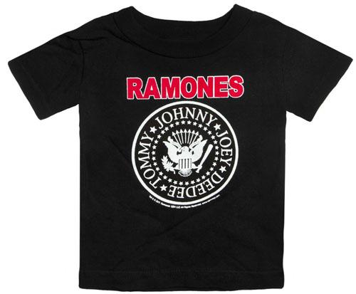 Ramones Logo Kids T-shirt by Sourpuss