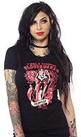 Bloodsucker girls tee by Sourpuss