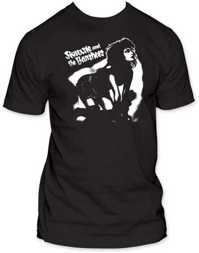 Siouxsie & The Banshees- Siouxsie On Hands & Knees on a black ringspun cotton shirt