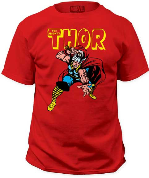 Marvel Comics- Thor on a red shirt