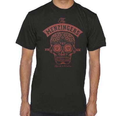 Menzingers- Sugar Liars on a black ringspun cotton shirt