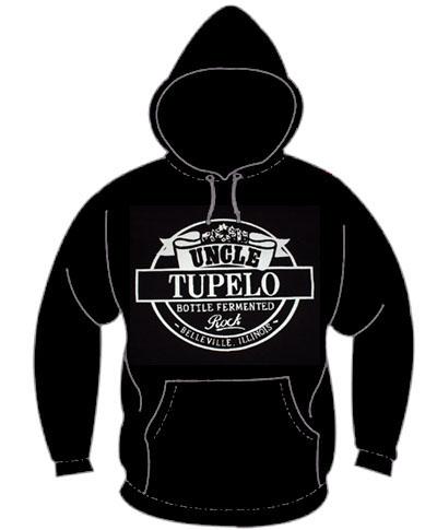 Uncle Tupelo- Bottle Fermented Rock on a black hooded sweatshirt (Sale price!)