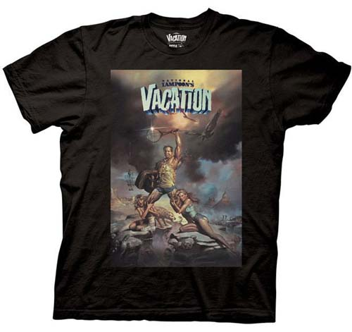 National Lampoon's Vacation- Movie Poster on a black shirt (Sale price!)