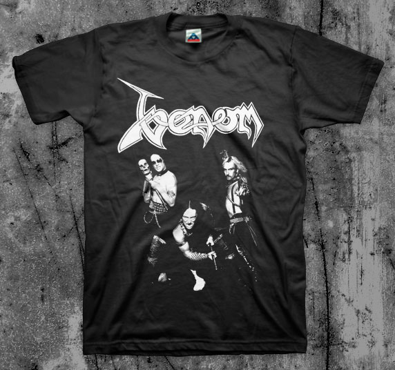 Venom- Band Pic on a black shirt