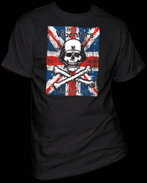 Vibrators- Garage Punk on a black shirt (Sale price!)