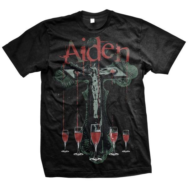 Aiden- Stigmata on a black shirt (Sale price!)