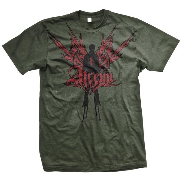 Atreyu- Angel Man on an army green shirt (Sale price!)