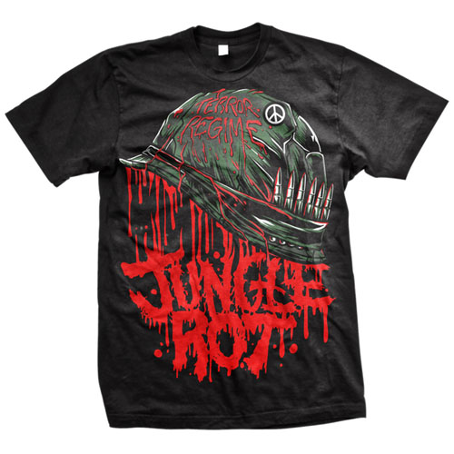 Jungle Rot- Full Metal Rot on a black shirt (Sale price!)