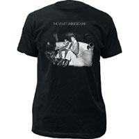 Velvet Underground- 3rd Album Cover on a black ringspun cotton shirt
