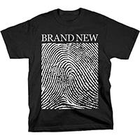 Brand New- Fingerprint on a black shirt