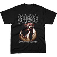 Deicide- Scars Of The Crucifix on a black shirt