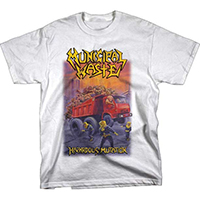 Municipal Waste- Hazardous Mutation on a white shirt