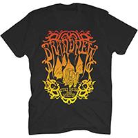 Brand New- Daretur on a black shirt