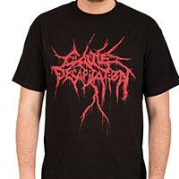 Cattle Decapitation- Logo on a black shirt (Sale price!)
