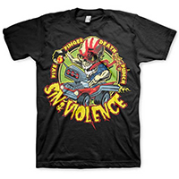 Five Finger Death Punch- Sin & Violence on a black shirt (Sale price!)