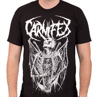 Carnifex- Riddick on a black shirt
