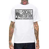 Social Distortion- Born To Lose Since 1979 on a white shirt
