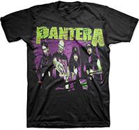 Pantera- Band Pic on a black shirt