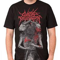 Cattle Decapitation- Dual Revenge on a black shirt