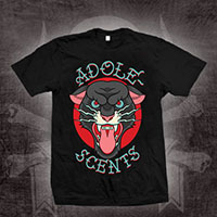 Adolescents- Panther on a black shirt (Sale price!)