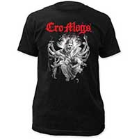 Cro Mags- Best Wishes on a black ringspun cotton shirt