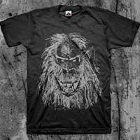 Creepshow- Fluffy on a black shirt