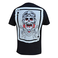 Death from Above on a black slim fit shirt by Black Market Art Company & artist Cormack - SALE sz S & 2X