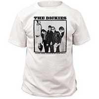 Dickies- You Drive Me Ape on a white shirt