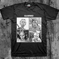 Gummo- Let It Be on a black shirt