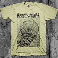 Insect Warfare- Skull shirt (Various Color Ts)