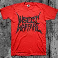 Insect Warfare- Black Logo shirt (Various Color Ts)
