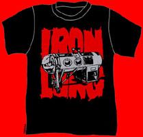 Iron Lung- Logo on a black shirt (Sale price!)