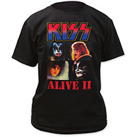 Kiss- Alive II on a black shirt (Sale price!)