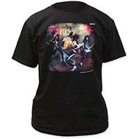 Kiss- Alive on a black shirt