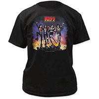 Kiss- Destroyer on a black shirt