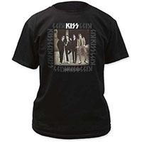 Kiss- Dressed To Kill on a black shirt