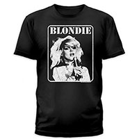 Blondie- Presente Poster on a black ringspun cotton shirt by Goodie Two Sleeves (Sale price!)