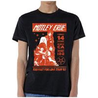 Motley Crue- Whisky A Go-Go '82 on a black ringspun cotton shirt