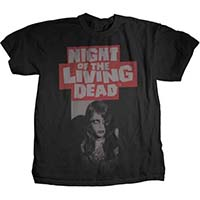 Night Of The Living Dead- Kyra Coming Out on a black shirt