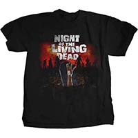 Night Of The Living Dead- Grave on a black shirt