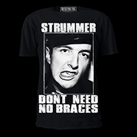 No Braces Joe Strummer Shirt by Western Evil