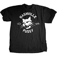 Nashville Pussy- Bobcat on a black shirt