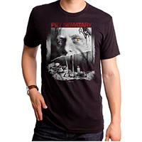 Pet Sematary- Movie Poster on a black ringspun cotton shirt by Goodie Two Sleeves (Sale price!)