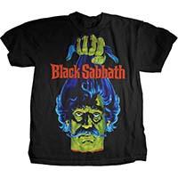 Black Sabbath- Head on a black shirt (Boris Karloff horror movie, not the band)