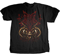 Dark Funeral- Devil on a black shirt (Sale price!)