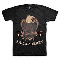 Sailor Jerry - Bold Eagle guys slim fit shirt - graphite - SALE sz 2X only