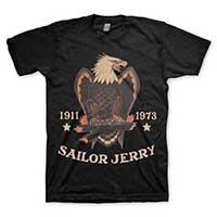 Sailor Jerry - Bold Eagle guys slim fit shirt - graphite - SALE sz M & 2X only
