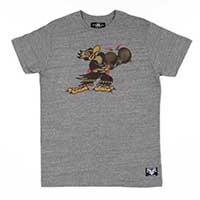 Sailor Jerry - Put Em Up guys slim fit shirt - grey heather - SALE sz L & 2X only
