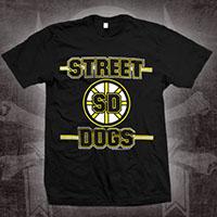 Street Dogs- Bruins on front, Orr on back on on a black shirt (Sale price!)
