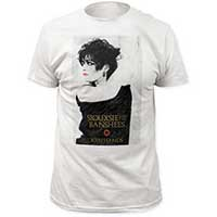Siouxsie & The Banshees- Join Hands on a white ringspun cotton shirt